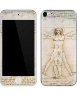 da Vinci - The Proportions of Man Apple iPod Skin