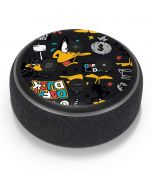 Daffy Duck Patches Amazon Echo Dot Skin