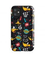 Daffy Duck Patches iPhone 11 Impact Case