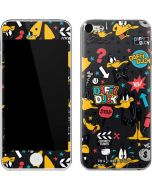 Daffy Duck Patches Apple iPod Skin