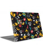 Daffy Duck Patches Apple MacBook Air Skin