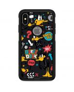 Daffy Duck Patches Otterbox Commuter iPhone Skin