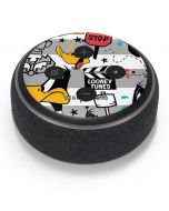 Daffy Duck Striped Patches Amazon Echo Dot Skin