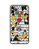 Daffy Duck Striped Patches iPhone 11 Pro Max Skin