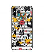 Daffy Duck Striped Patches iPhone 11 Pro Skin