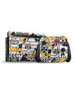 Daffy Duck Striped Patches Nintendo Switch Bundle Skin