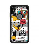Daffy Duck Striped Patches Otterbox Commuter iPhone Skin