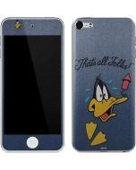 Daffy Duck Thats All Folks Apple iPod Skin