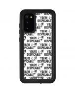 Daffy Duck Youre Despicable Grid Galaxy S20 Waterproof Case