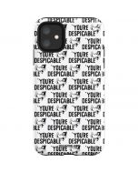 Daffy Duck Youre Despicable Grid iPhone 11 Impact Case