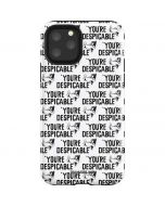 Daffy Duck Youre Despicable Grid iPhone 11 Pro Impact Case