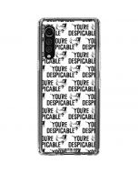 Daffy Duck Youre Despicable Grid LG Velvet Clear Case