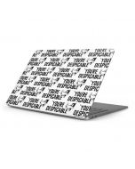 Daffy Duck Youre Despicable Grid Apple MacBook Pro 16-inch Skin