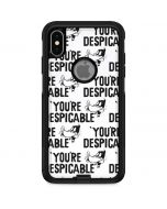 Daffy Duck Youre Despicable Grid Otterbox Commuter iPhone Skin
