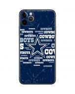 Dallas Cowboys Blast iPhone 11 Pro Max Skin