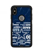 Dallas Cowboys Blast Otterbox Commuter iPhone Skin