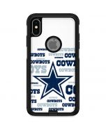 Dallas Cowboys Blue Blast Otterbox Commuter iPhone Skin