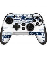 Dallas Cowboys Blue Blast PlayStation Scuf Vantage 2 Controller Skin