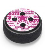 Dallas Cowboys Pink Blast Amazon Echo Dot Skin