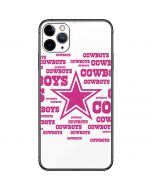 Dallas Cowboys Pink Blast iPhone 11 Pro Max Skin