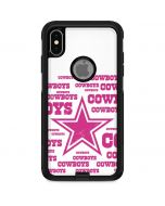 Dallas Cowboys Pink Blast Otterbox Commuter iPhone Skin