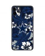Dallas Cowboys Tropical Print iPhone 11 Pro Max Skin