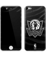 Dallas Mavericks Black Animal Print Apple iPod Skin