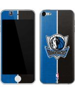 Dallas Mavericks Canvas Apple iPod Skin