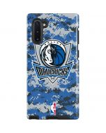 Dallas Mavericks Digi Camo Galaxy Note 10 Pro Case
