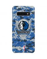 Dallas Mavericks Digi Camo Galaxy S10 Plus Lite Case