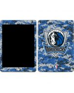 Dallas Mavericks Digi Camo Apple iPad Skin