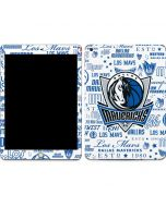 Dallas Mavericks Historic Blast Apple iPad Skin