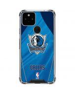 Dallas Mavericks Jersey Google Pixel 5 Clear Case