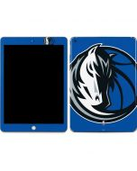 Dallas Mavericks Large Logo Apple iPad Skin