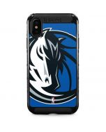Dallas Mavericks Large Logo iPhone XS Max Cargo Case