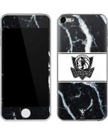 Dallas Mavericks Marble Apple iPod Skin