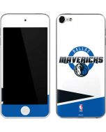 Dallas Mavericks Split Apple iPod Skin