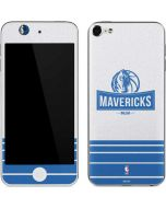Dallas Mavericks Static Apple iPod Skin