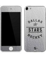 Dallas Stars Black Text Apple iPod Skin