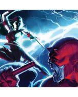 Daredevil vs Elektra Moto G8 Plus Clear Case