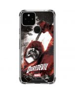 Daredevil In Action Google Pixel 5 Clear Case