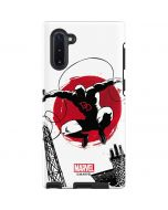 Daredevil Jumps Into Action Galaxy Note 10 Pro Case