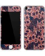Dark Tapestry Floral Apple iPod Skin
