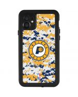 Indiana Pacers Digi Camo iPhone 11 Waterproof Case