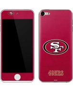 San Francisco 49ers Distressed Apple iPod Skin