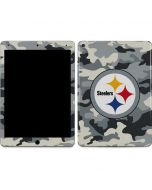 Pittsburgh Steelers Camo Apple iPad Air Skin