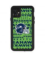 Seattle Seahawks - Blast Green iPhone 11 Waterproof Case