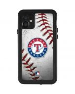 Texas Rangers Game Ball iPhone 11 Waterproof Case