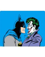 Batman vs Joker - Blue Background Apple iPad Skin