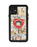 Betty Boop Comic Strip iPhone 11 Waterproof Case